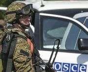 В зоне АТО автомобиль миссии ОБСЕ подорвался на мине