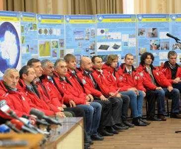 Харьковчане вернулись из антарктической экспедиции