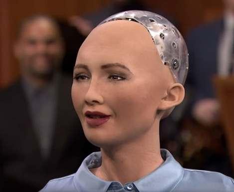 Робот София призналась в намерении захватить мир: видео