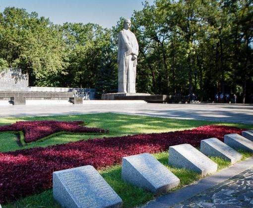 В Харькове на Мемориале Славы высадят 50 тысяч цветов