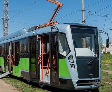 В Харькове собрали собственный трамвай