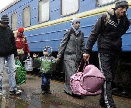В Украине выросло число зарегистрированных переселенцев из Крыма и Донбасса
