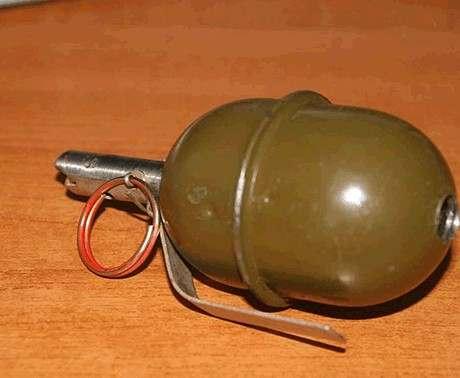 В Харькове неизвестные бросили в аптеку детонатор от гранаты РГД-5