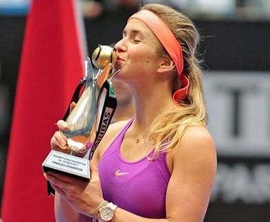 Элина Свитолина выиграла теннисный турнир в Стамбуле