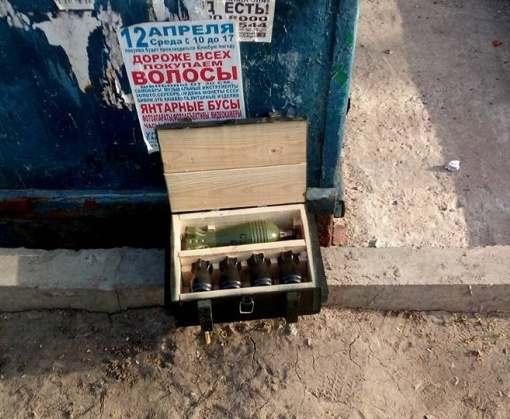 Харьковские полицейские приняли набор для алкоголя за боеприпасы