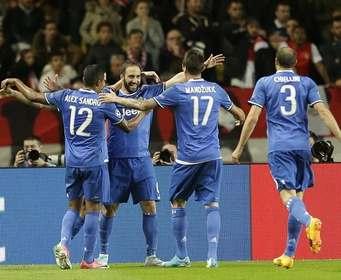 Дубль Игуаина принес «Ювентусу» победу над «Монако» в полуфинале Лиги чемпионов