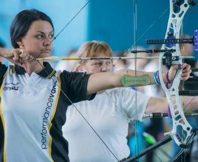 Харьковская лучница завоевала золотую медаль Гран-при Европы