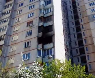 Пожар в Харькове: на Салтовке горела высотка