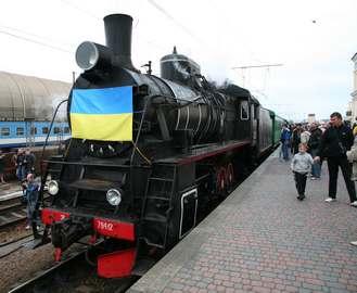 По Харькову проедет ретро-поезд