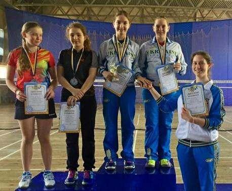 Харьковские бадминтонисты выиграли чемпионат Украины