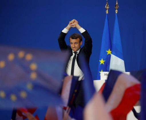 Макрон уверенно победил на выборах президента Франции