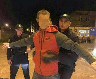 В Харькове задержали дерзкого грабителя