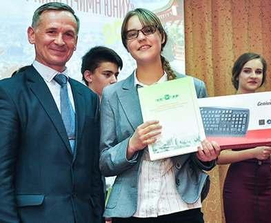В Харькове наградили победителей школьного конкурса