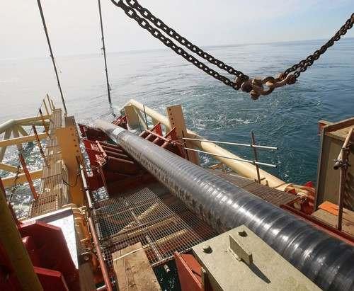 «Газпром» начал строительство «Турецкого потока»