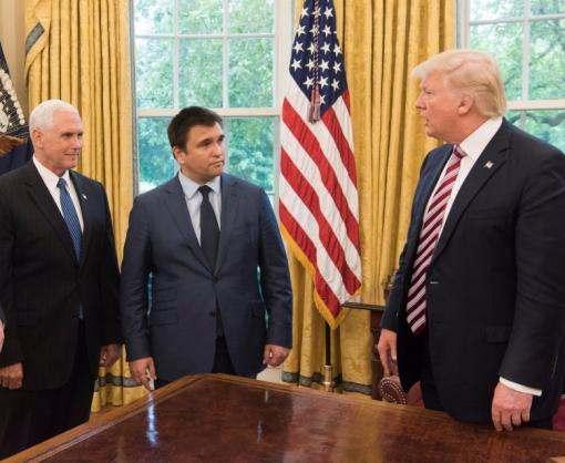Дональд Трамп принял в Белом доме Павла Климкина