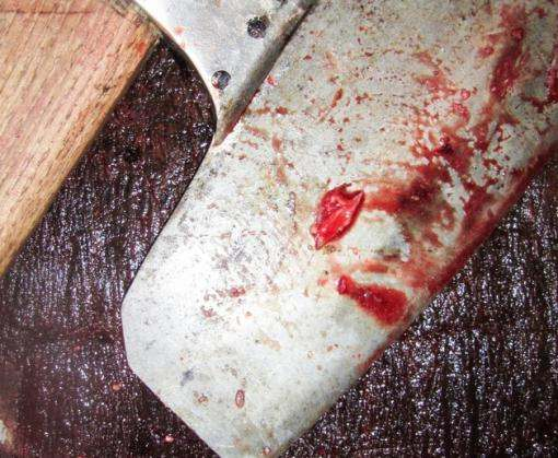 В Харькове посреди улицы мужчину изрубили топором