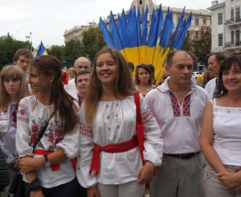 По Харькову пройдет марш вышиванок