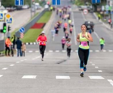 В Харькове прошел женский забег Women Run