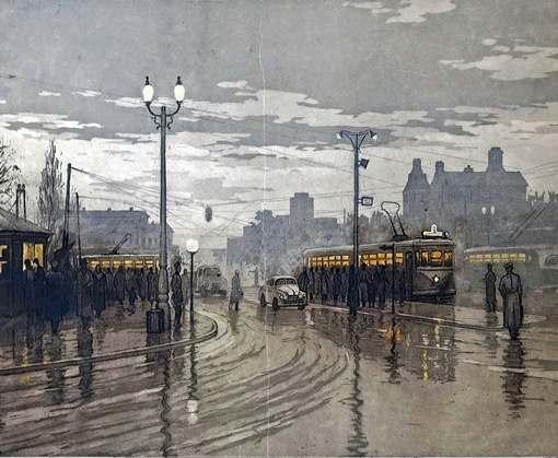 В Ночь Музеев харьковчанам покажут картины о городе и его транспорте