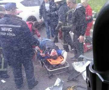 Десятерых пострадавших в результате аварии на Окружной доставили в больницу