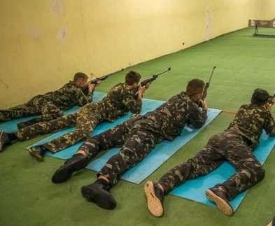 В Харькове прошла военно-спортивная игра «Патриот»