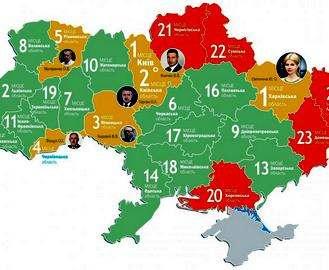 Харьковщина возглавила рейтинг социально-экономического развития областей Украины