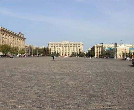 Площадь Свободы в Харькове закрыта на три дня