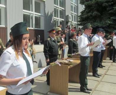 В Харькове военные медики приняли присягу