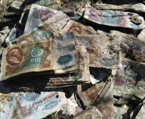 В России нашли денежный тайник