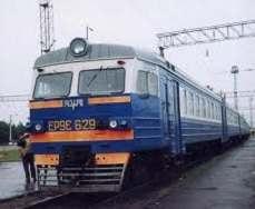 Отменяются электрички из Харькова