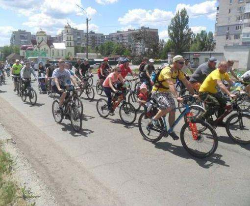 В Лозовой поставили велорекорд