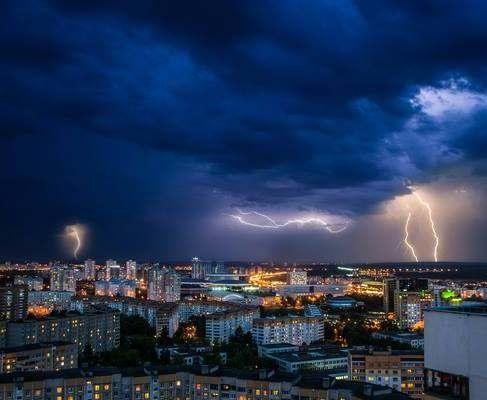 Погода в Украине: синоптики предупреджают о сильных ветрах и шквалах