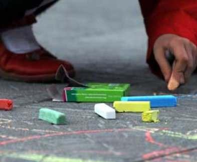 В саду Шевченко пройдет детский конкурс рисунка на асфальте