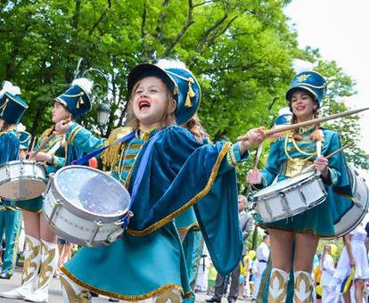 Дети Харькова широко отметили свой профессиональный праздник