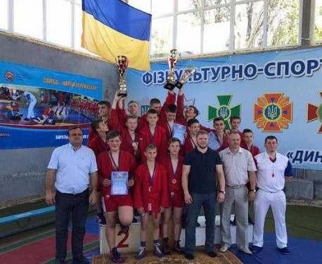 Юные самбисты Харьковщины выиграли чемпионат Украины