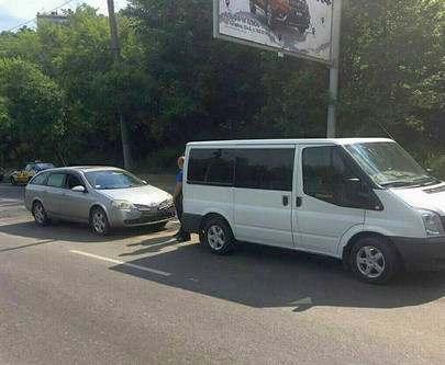 ДТП в Харькове: Nissan «догнал» Ford