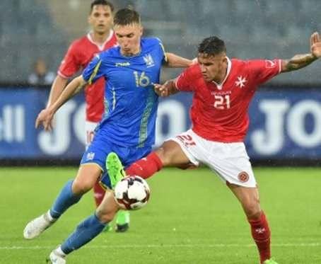 По футбольной сборной Украины прошелся мальтийский «жезл»