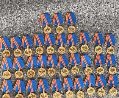 На границе задержали военные медали