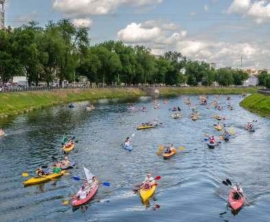 В Харькове прошел фестиваль водного спорта