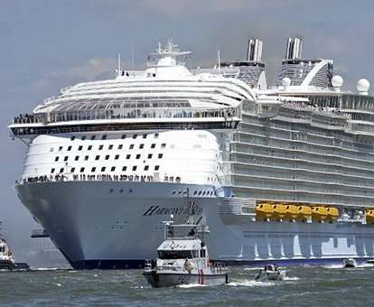 Самый вместительный круизный лайнер в мире построят через пять лет
