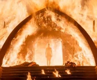 В новом сезоне «Игры престолов» подожгли рекордное число людей