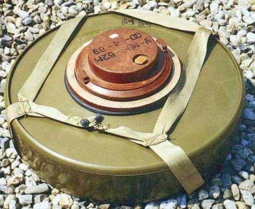 В центре Харькова нашли противотанковую мину