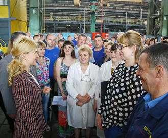 На заводе «Турбоатом» откроется личная приемная губернатора