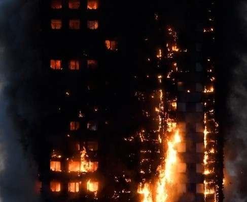 В Лондоне загорелся 27-этажный жилой дом: видео