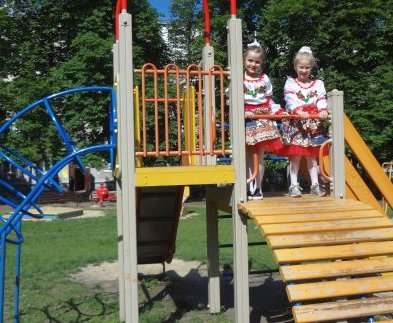 В Харькове открыли очередную детскую площадку