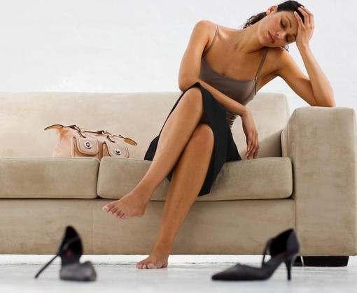 Остеохондрозу нравятся женщины на высоких каблуках