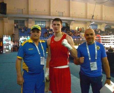 Чемпионат Европы по боксу в Харькове: Рамазан Муслимов дебютировал победно