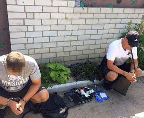 Под Харьковом поймали банду квартирных воров