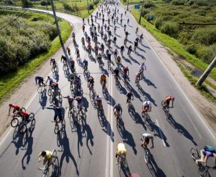 Харьковские железнодорожники пересаживаются на велосипеды