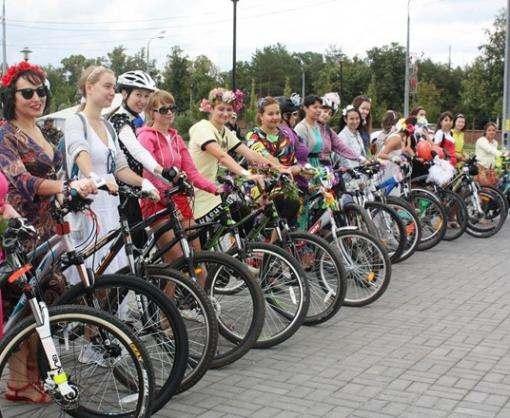 В Харькове готовится велопарад «Девочки в косичках»